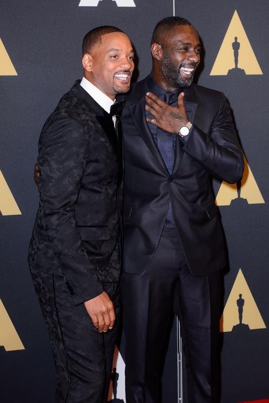 Will Smith e Idris Elba