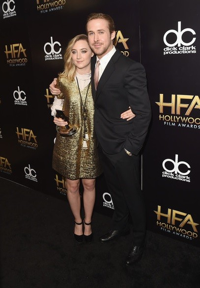 Ryan Gosling e Saoirse Ronan