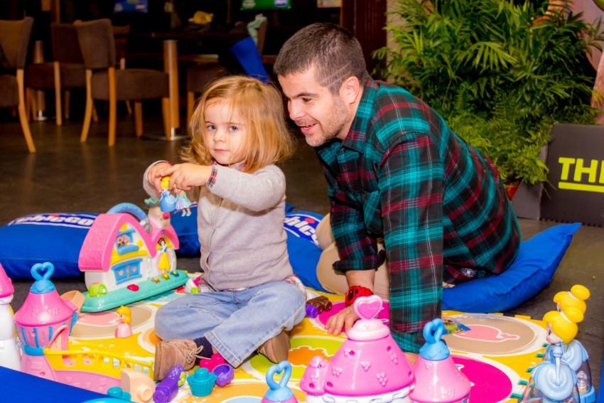 Miguel Costa com a filha Luísa