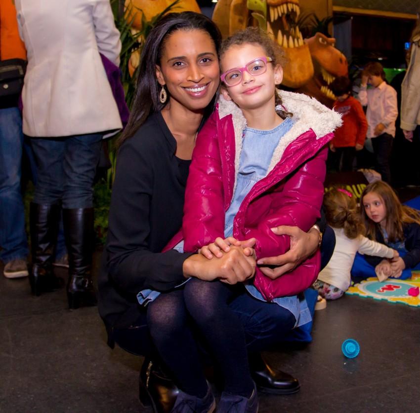 Swaila e a filha Madalena
