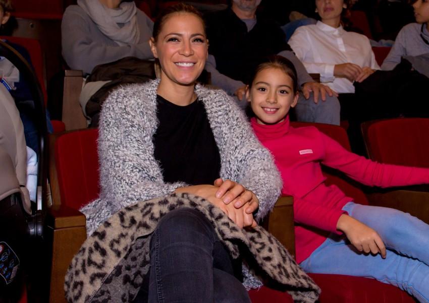 Bárbara Taborda e a filha Constança