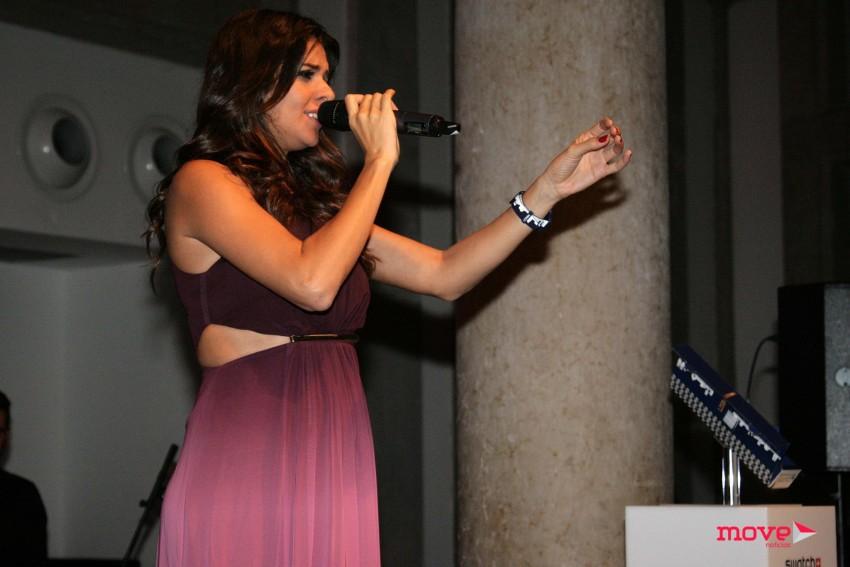 O evento contou com a atuação de Cuca Roseta