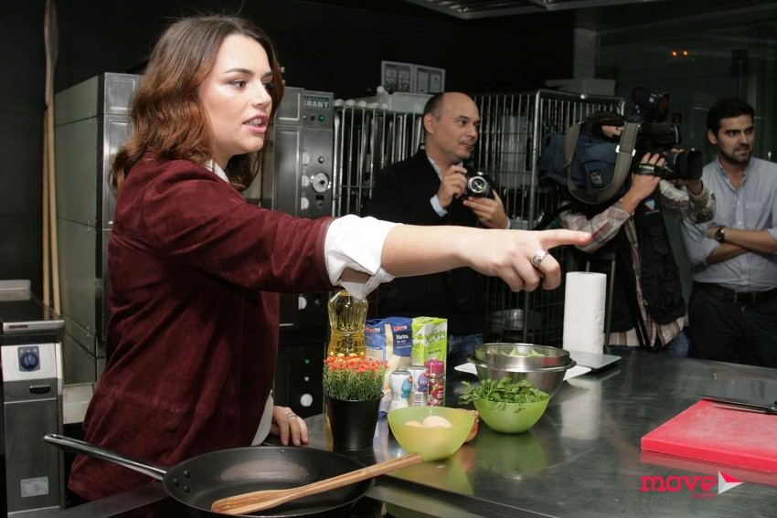 Ana Guiomar dá indicações aos convidados