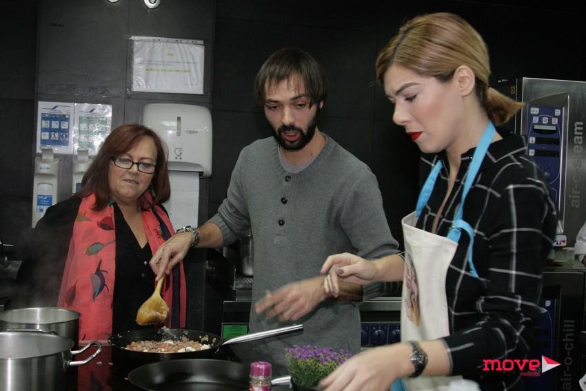 Diogo Valsassina e Raquel Strada