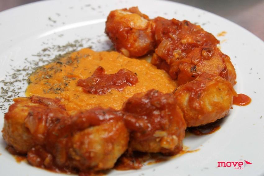 O prato confecionado por Pedro Barroso