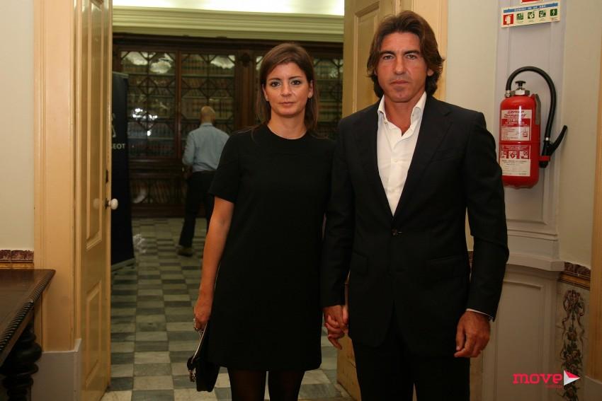 Sá Pinto e a mulher, Frederica