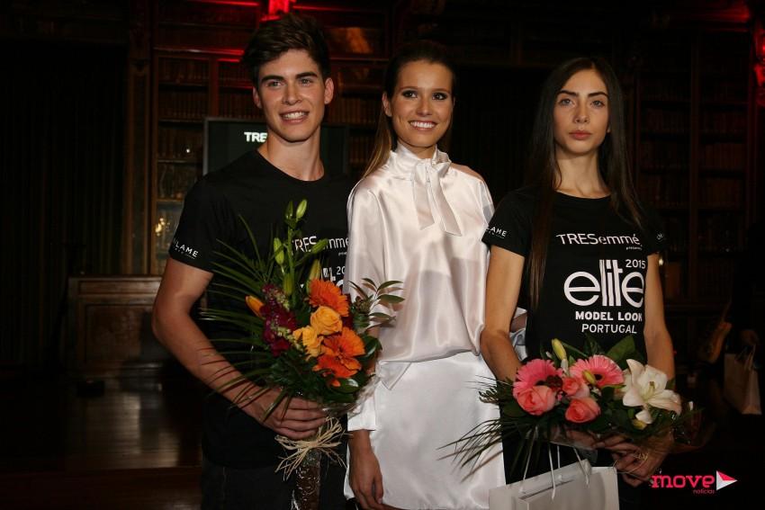 Jani Gabriel com os vencedores