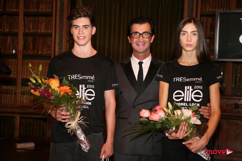 Os vencedores com Hélio Bernardino