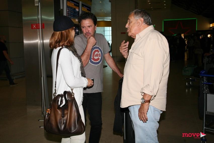 Helena Forjaz à conversa com Fernando Luís e Nicolau Breyner