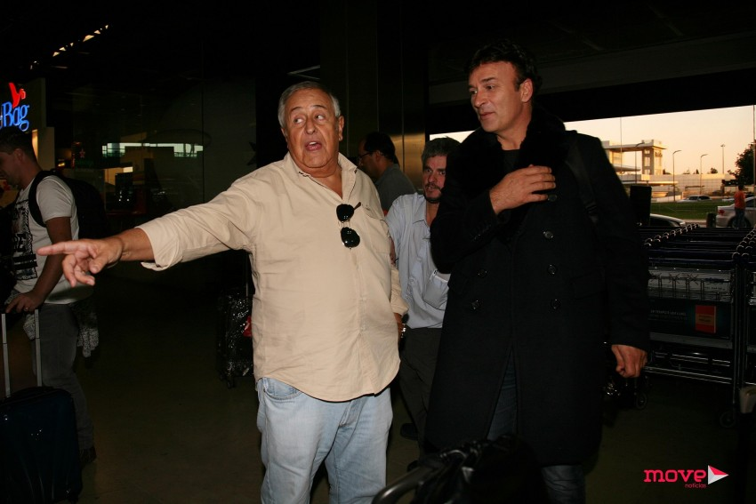 Nicolau Breyner e Tony Carreira