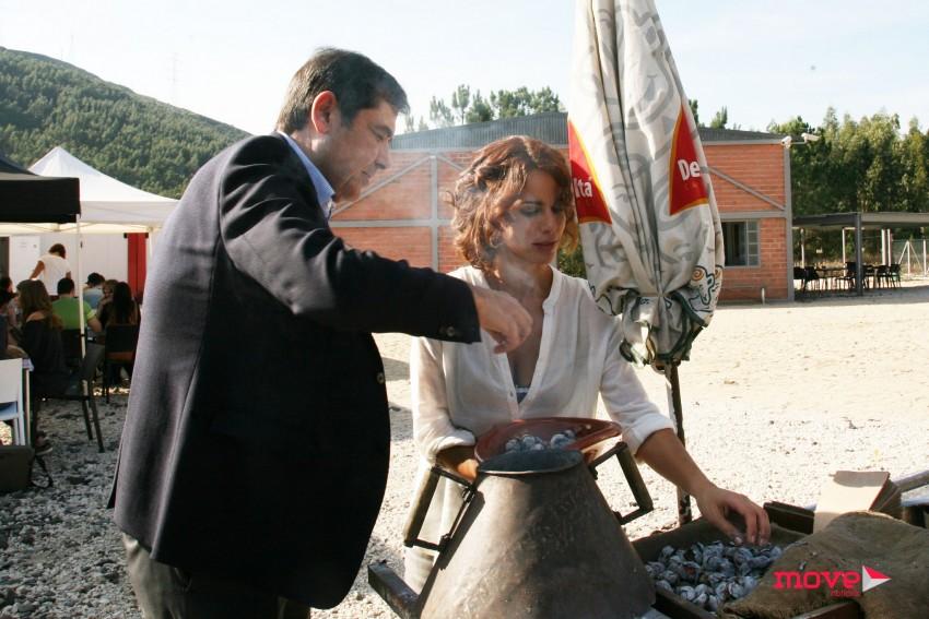 José Eduardo Moniz e Susana Arrais
