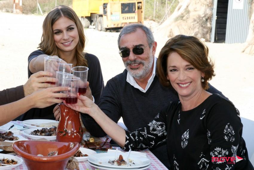 "Elenco de ""Santa Bárbara reuniu-se para o Magusto"