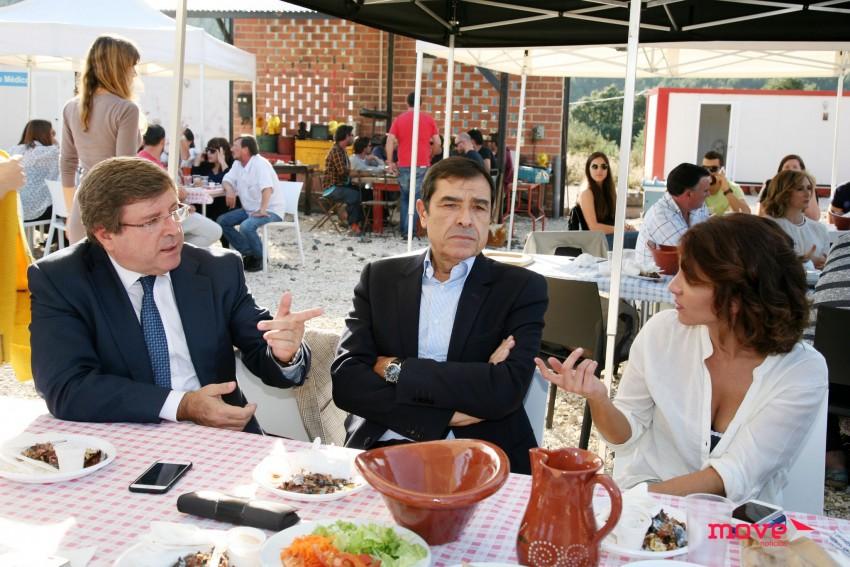 Luís Cunha Velho, José Eduardo Moniz e Susana Arrais