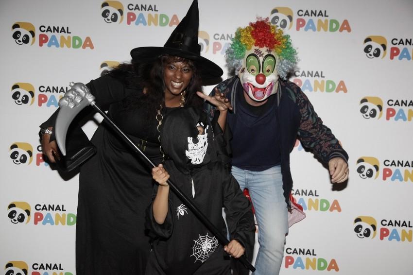Isaac Carvalho com os pais, Sofia e Marco Carvalho
