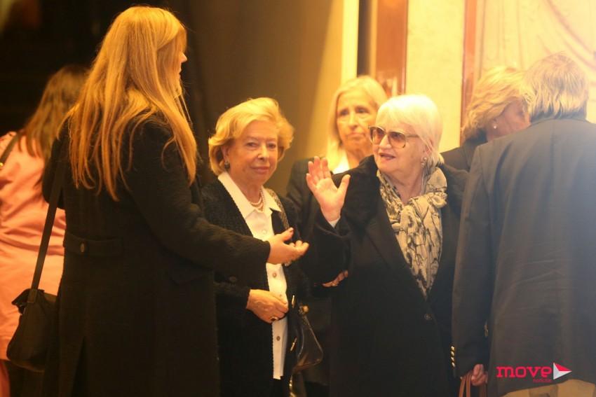 A mãe do vereador, Maria Elisa Cunha e Silva