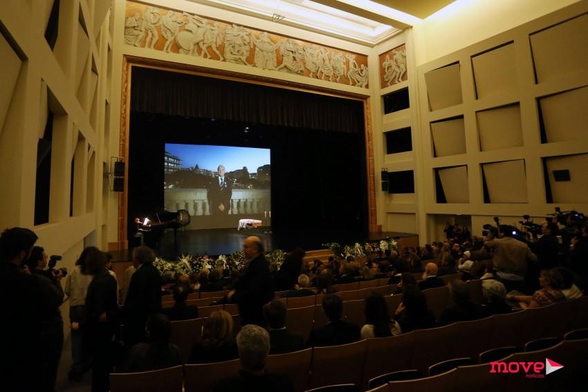 O corpo do vereador foi velado no Grande Auditório Manoel de Oliveira