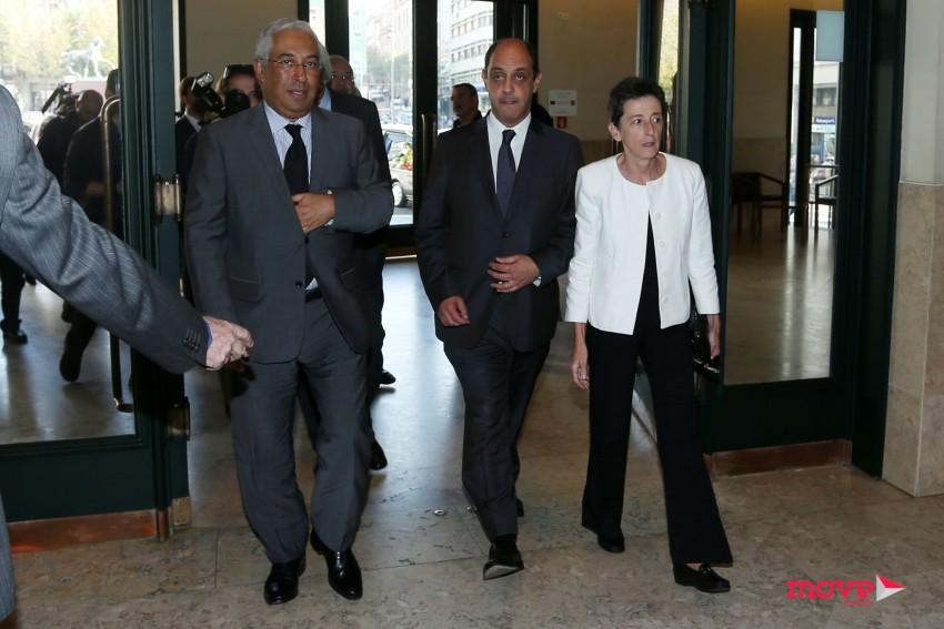 António Costa, Manuel Pizarro e Rosa Mota
