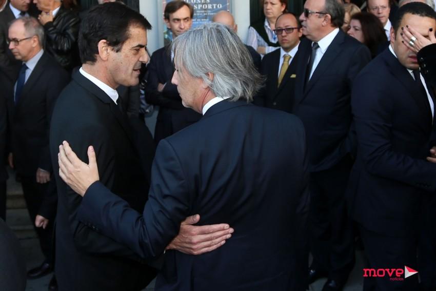 Rui Moreira com Nuno Cunha e Silva, irmão de Paulo Cunha e Silva