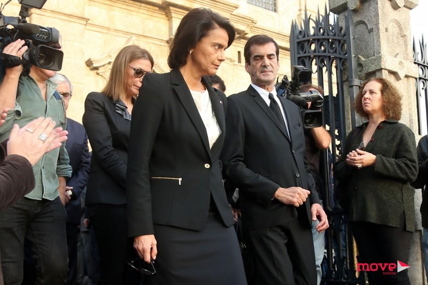 A ministra da cultura, Teresa Morais, com Rui Moreira
