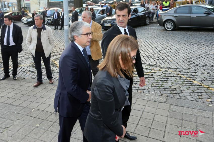 Aguiar-Branco com Rui Moreira e Maria Bochicchio