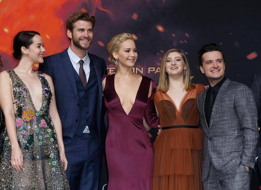 O elenco do filme