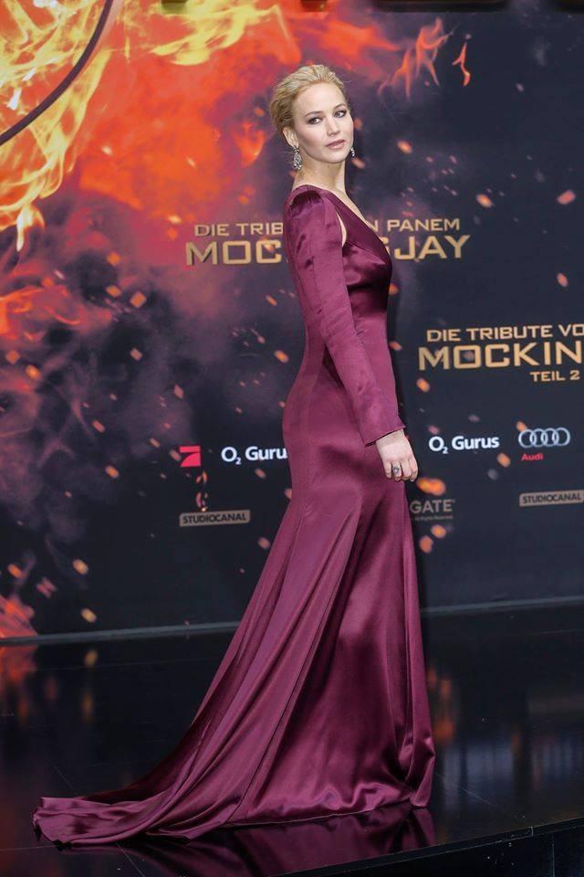 Jennifer Lawrence na estreia do filme em Berlim