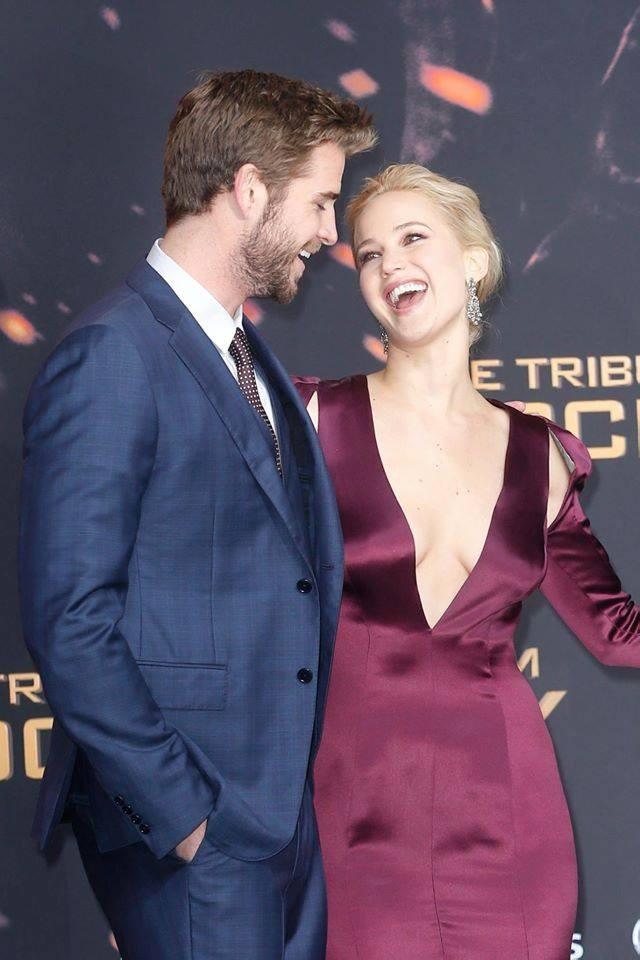 Liam Hemsworth e Jennifer Lawrence
