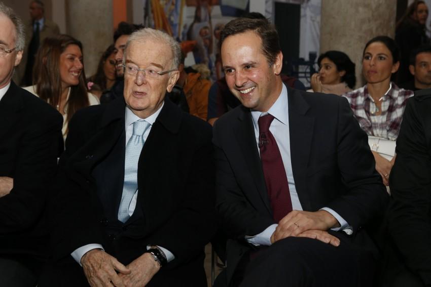 Jorge Sampaio e Fernando Medina