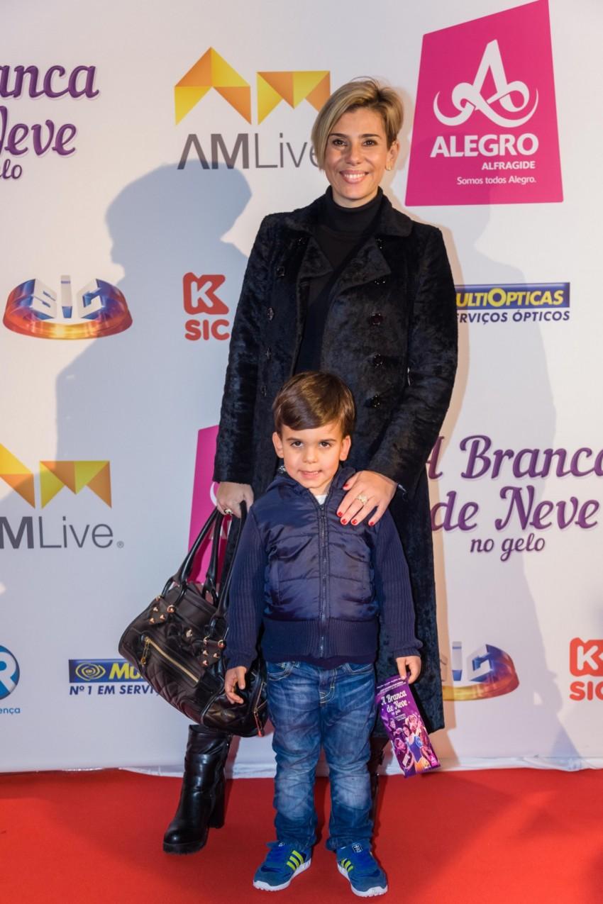 Mónica Sintra e o filho, Duarte