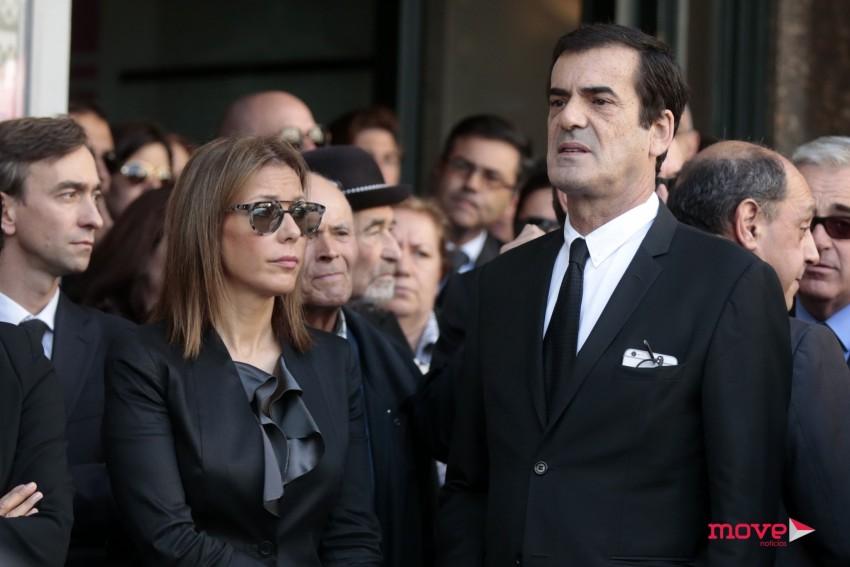 Rui Moreira com a namorada, a escritora Maria Bochicchio