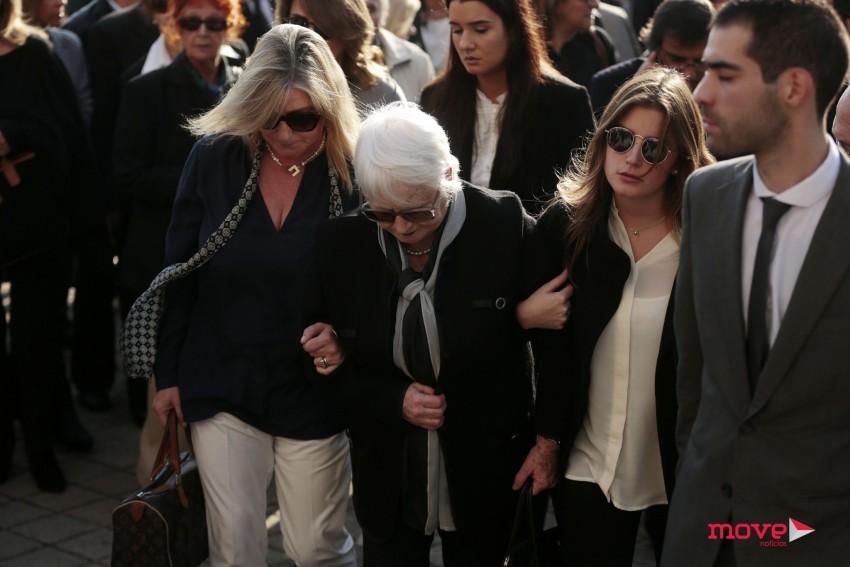 A família de Paulo Cunha e Silva: a irmã, Mariana, a mãe, Elisa, e a sobrinha, Mariana