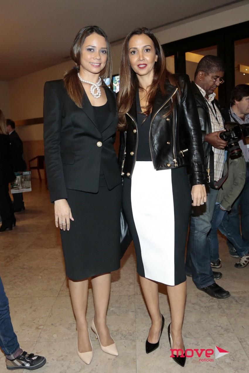 Fernanda Pinto da Costa com a namorada de Fernando Gomes, Alexandra Afonso