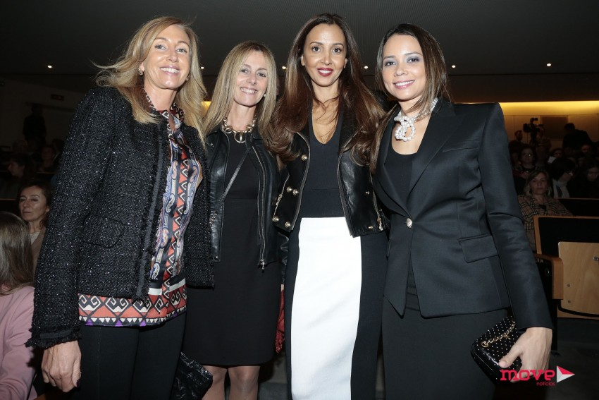 Alda Almeida, Paula Pinto Barros, Alexandra Afonso e Fernanda Pinto da Costa