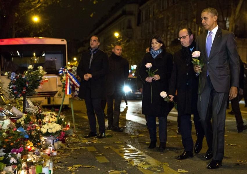 Obama Hollande