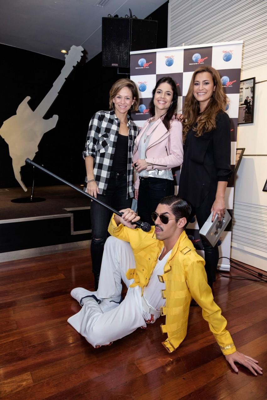 Paula Lobo Antunes, Roberta Medina e Andreia Dinis