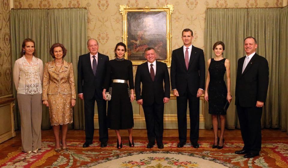 Reis Espanha Jordania