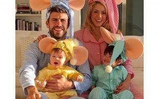 Shakira e Piqué foram pais pela segunda vez de Sasha.