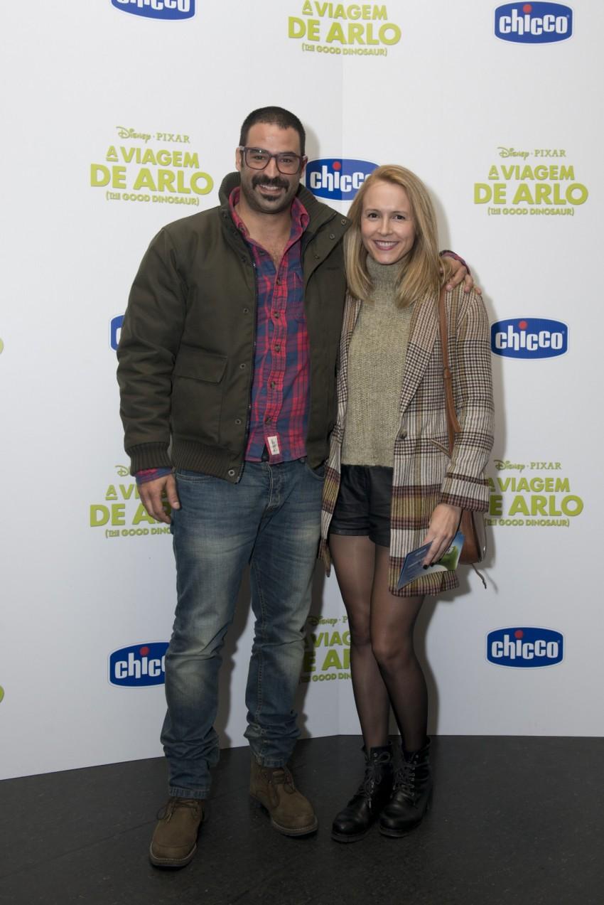 João Catarré e Sandra Santos