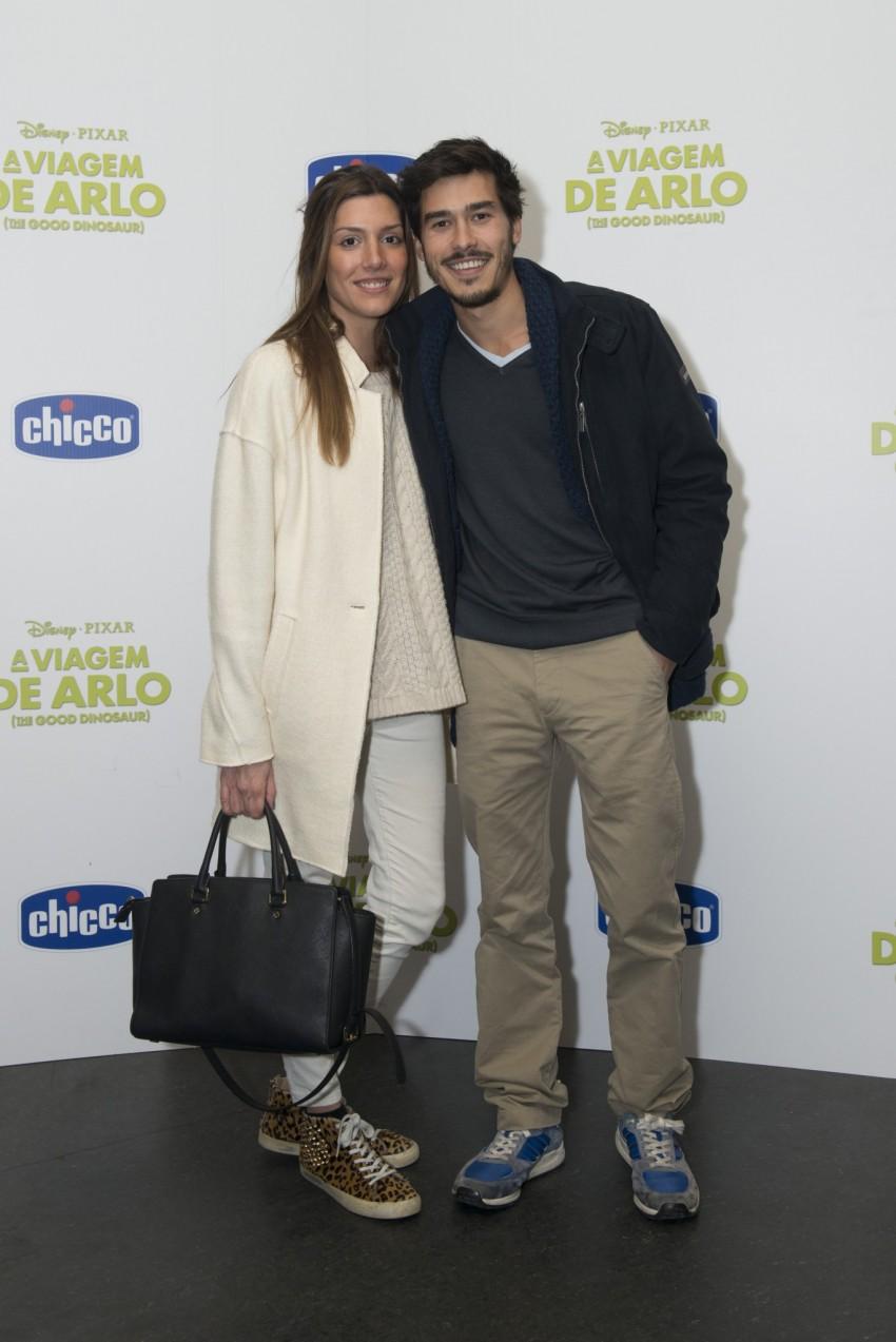 Francisco Garcia e Sofia Sousa Guedes