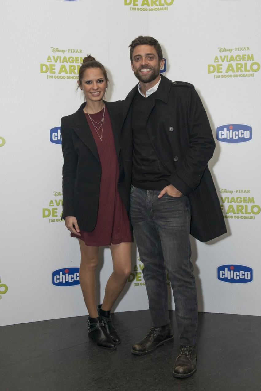Diogo Amaral e Vera Kolodzig