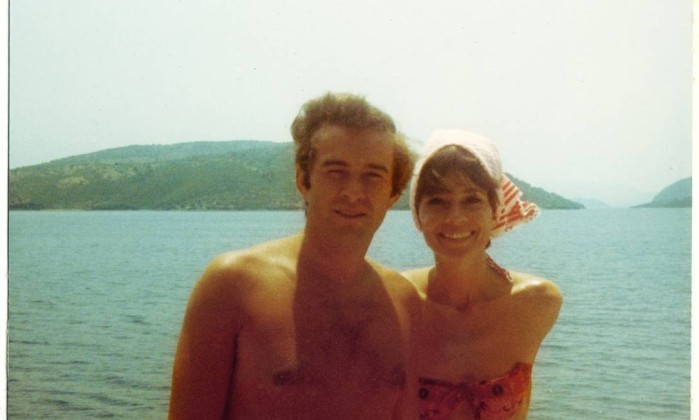 Audrey Hepburn com o segundo marido, Andrea Dotti