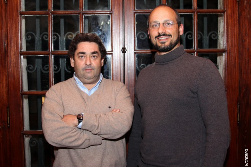 Pedro Bastos e Álvaro Gouveia e Melo