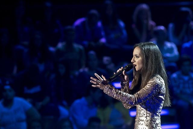 """Filipa Azevedo cantou """"Lay me down"""" e foi escolhida por Anselmo para passar às galas."""