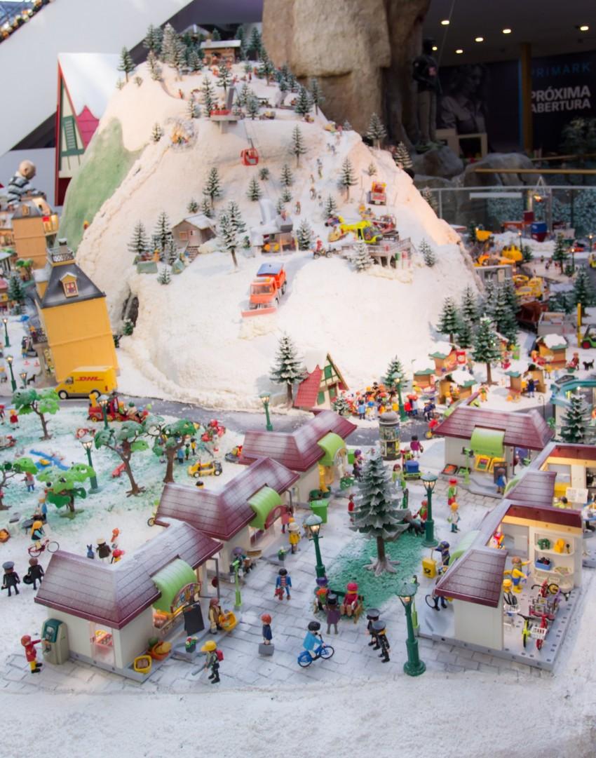Aldeia de natal Playmobil