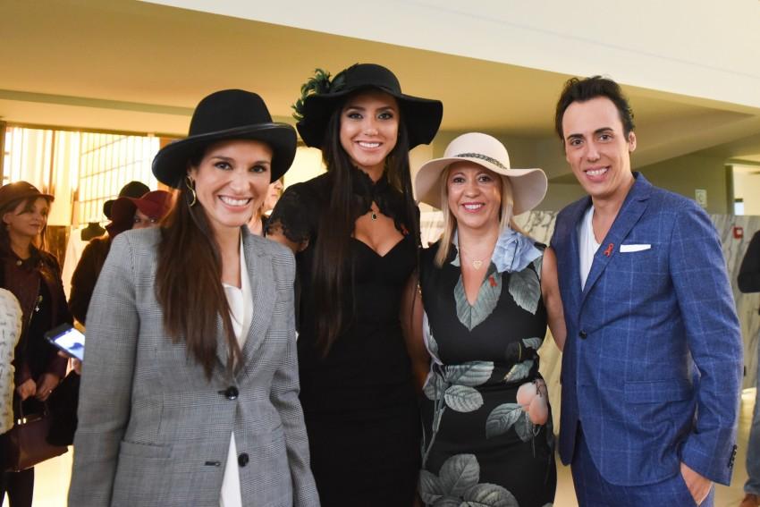 Ana Bravo, Kelly Baron, Daniel Martins e Solange Silva - Chá do Chapéu 2015