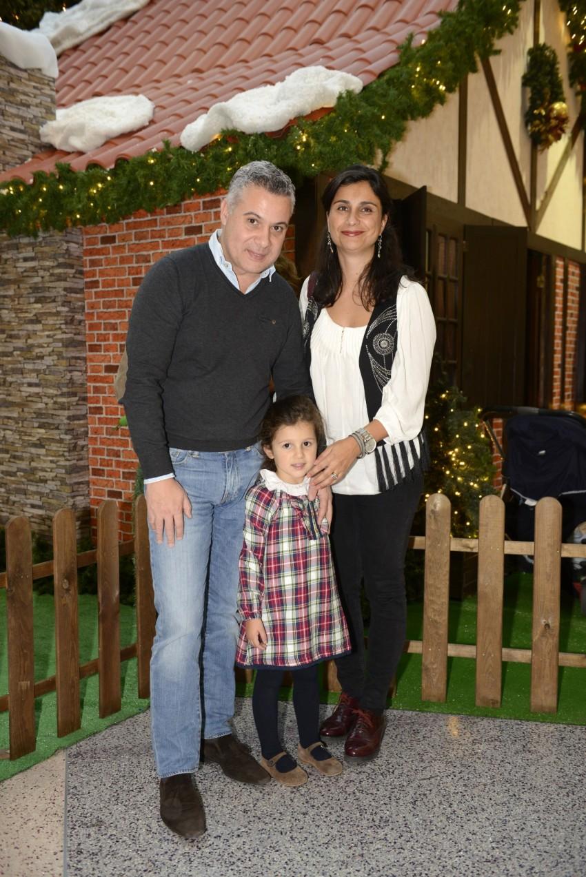 António Esteves com a família