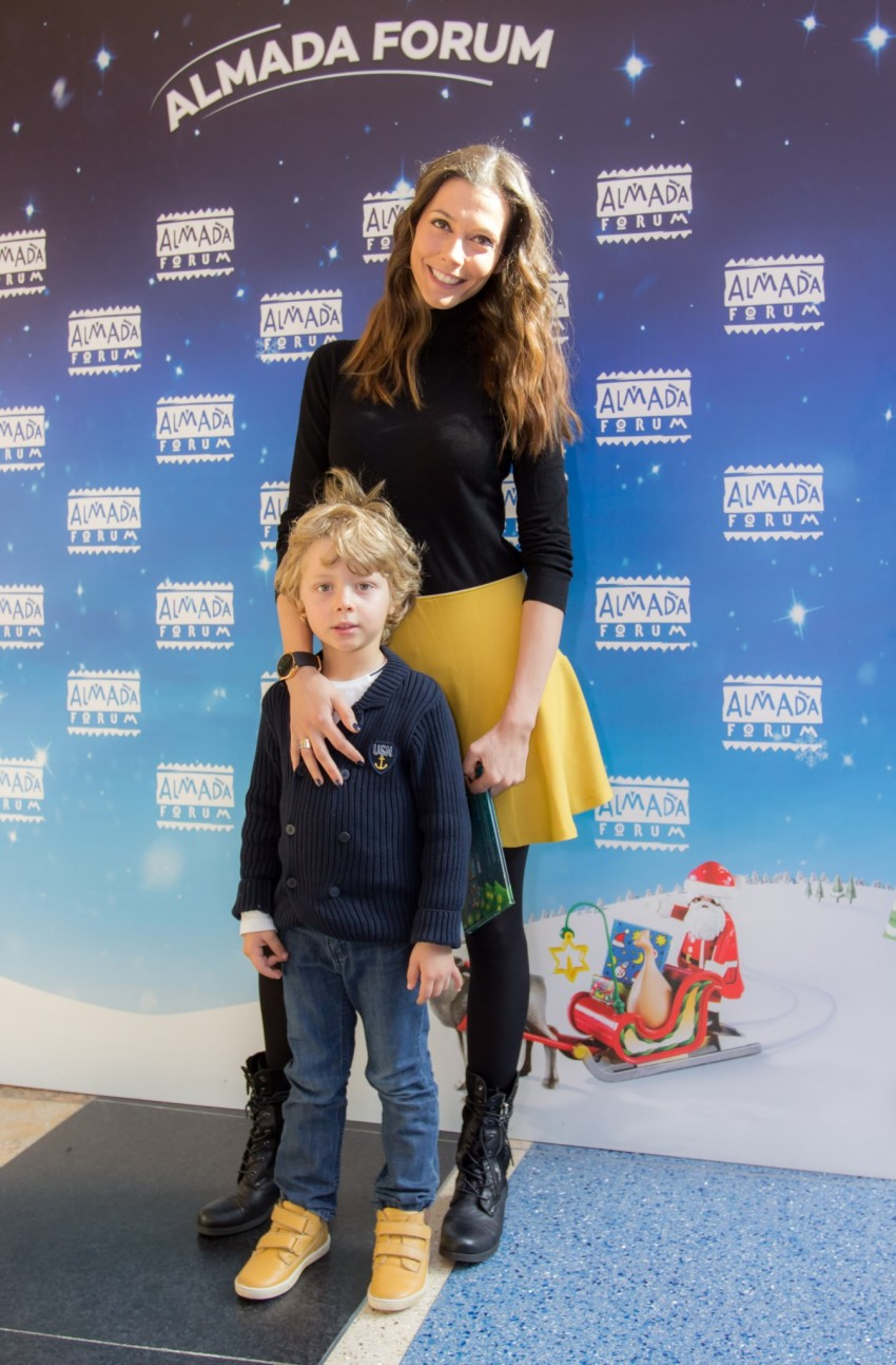 Claudia Borges e o filho, Rodrigo