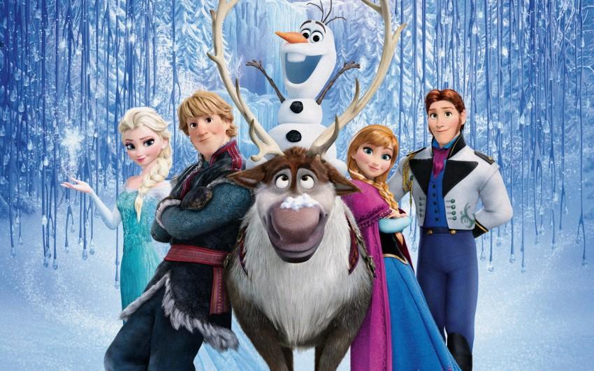 """Filme de animação """"Frozen"""", dia 24 de dezembro, às 18h00, na SIC."""