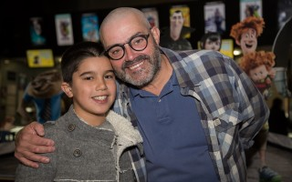 João Ricardo com o filho, Rodrigo