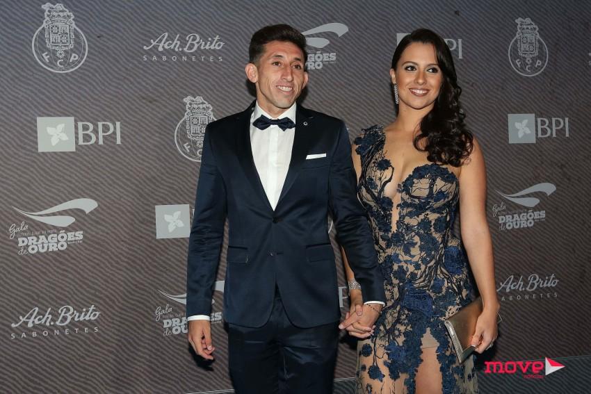 Héctor Herrera e Chantal